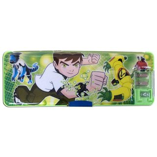 6th Dimensions Ben10 Pencil Box With Led Light