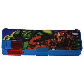 6th Dimensions Marvel Avengers Pencil Box With Sharpener