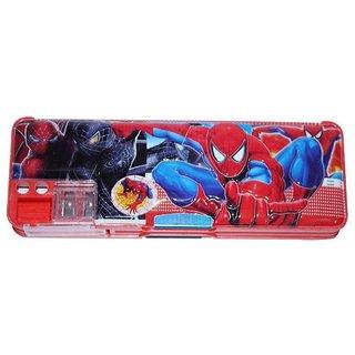 6th Dimensions Presents Spiderman Multi Purpose Pencil Box