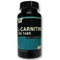 Optimum Nutrition (ON) L-Carnitine 500 Mg - 60 Tablets