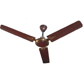 Usha New Trump 1200mm Ceiling Fan without Regulator (Brown)