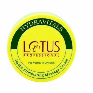Lotus Professional Hydravitals Jojoba Stimulating Massage Cream,250gm