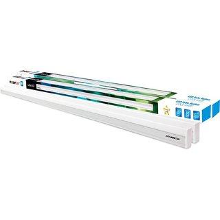 4 Feet 18  Watt LED Tube Batten Straight Linear LED  White   Pack of 2