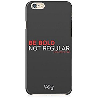 Be Bold, Not Regular, Even Italic is Fine - Designer Mobile Back Cover for Graphic Designers