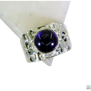 Amethyst 925 Sterling Silver Ring engaging Purple wholesales Indian gift