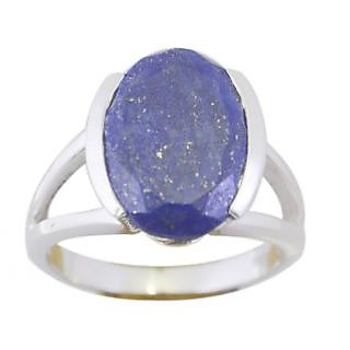 Lapis Lazuli 925 Sterling Silver Ring gorgeous Multicolor jaipur Indian gift