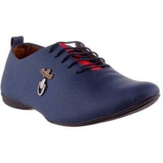 Ramzy Men's Blue Lace-up Outdoors