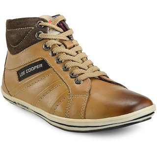 Lee Cooper Men's LC9635 TAN P1 Boots