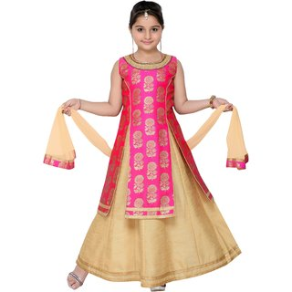 19a0f91dd Buy Adiva Girl s Party Wear Lehenga Choli Set For Kids Online - Get ...