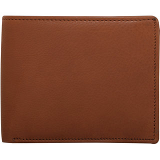 BE Genuine Leather Men's Wallet - TAN