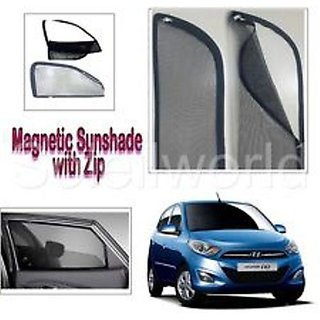 Magnetic Sun Shade Zipper Type Premium Quality for Grand i10