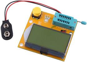 Mega328 Transistor Diode Triode Capacitor MOS PNP/NPN L/C/R ESR Meter Tester.