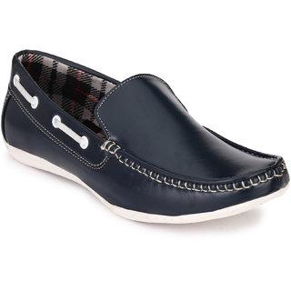 Baton Men's Navy Blue Loafer