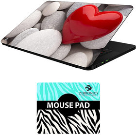 FineArts Combo of Abstract Art - LS5071 Laptop Skin and Mouse Pad