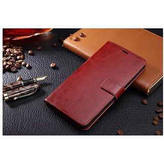Lenovo Zuk Z2 PlusFlip Case Cover nKarta Vintage Leather Diary Wallet Stand Cover Case for Lenovo Zuk Z2 Plus