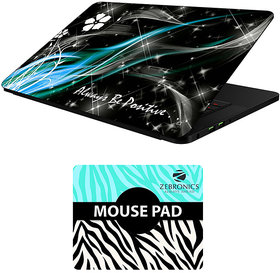 FineArts Combo of Quotes - LS5770 Laptop Skin and Mouse Pad