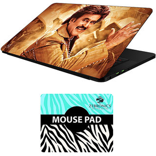 FineArts Combo of Famous Characters - LS5503 Laptop Skin and Mouse Pad