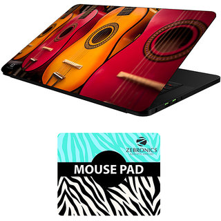 FineArts Combo of Music - LS5761 Laptop Skin and Mouse Pad