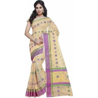 7626d05c37d Buy Indian House Women s Yellow Color Cotton Saree Online   ₹1899 ...