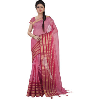 c7a8178347e Buy Indian House Women s Pink Color Cotton Saree Online   ₹999 from ...
