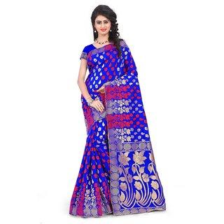Mastani Jaquard Work Cotton Silk saree with Blouse