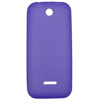 new product 0f1c1 44f1e Kelpuj Soft/TPU SGP Back Cover Case for Nokia 225 Dual Sim-Purple