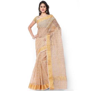 c8d8c3f9b0e Buy Indian House Women s Beige Color Pure Kota Doria Saree Online ...