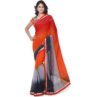 2441b796d4d Buy Indian House Women s Multi Color Georgette Saree Online   ₹899 ...