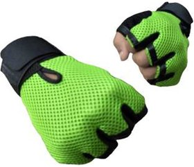 Gym Gloves with Wrist Strap (Assorted colours)