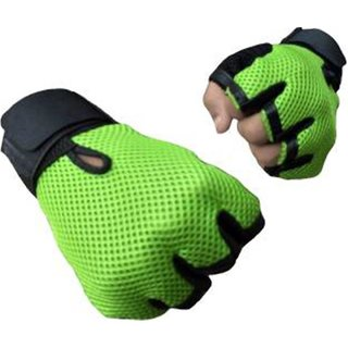Takson Sales Multicolor Gym Gloves with Wrist Strap (Assorted colours)