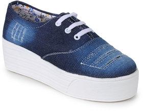 Naisha Women's Navy Sneakers