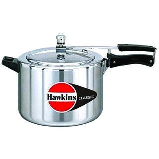 Hawkins Classic Aluminum Pressure Cooker 5 Litres