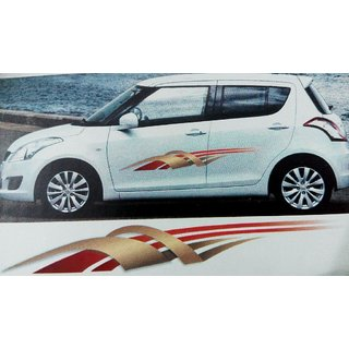 Buy 1 Set Car Graphics 2 Side Decal Vinyl Decal Body Sticker For Car
