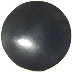 Urancia Magic Obsidian Scrying Mirror 4 to 5inch Dia Free Black Turmeric
