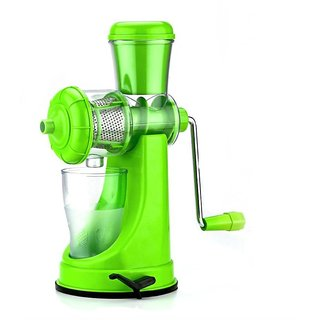 Fruit and Vegetable Juicer with Steel Handle-Plastic