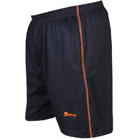 Sampy Blue Unisex Sports Shorts