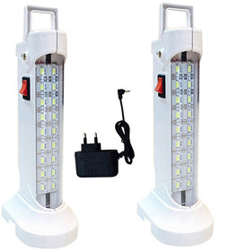 SAHI 10W (578) Rechargeable Emergency Light Set With Charger