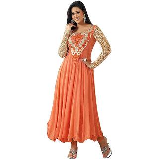 Best Collection Anarkali Salwar Kameez Dupatta suit Formal Ceremony women style (Unstitched)