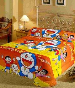 Bed Sheet Cartoon Single Bedding set