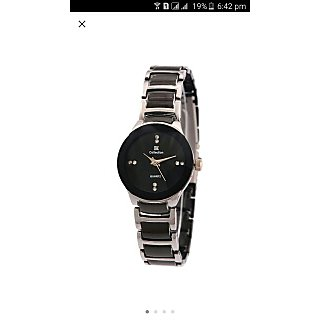 iik Wome SliverBlack watches by miss
