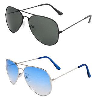 073f854be6 Buy Zyaden Combo of 2 Aviator Sunglasses Online - Get 80% Off