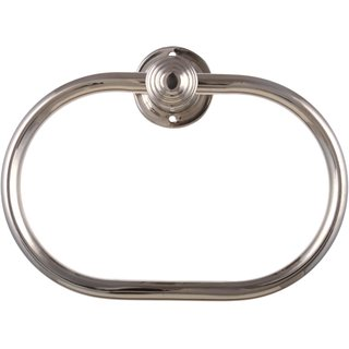 Fortune Platinum Stainless Steel Heavy Napkin/Towel Ring Oval (Chrome Finish/Plated)