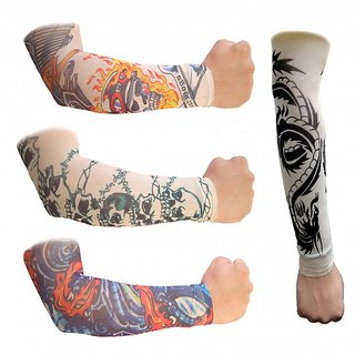 Arm Sleeves for Bikers-2-Pcs-(1 Pair)