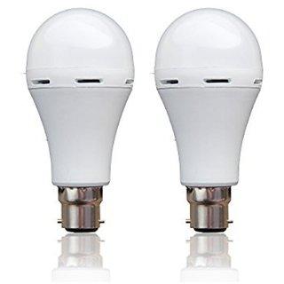 Base B22 7-Watt LED bulb (Cool Day Light,Pack of 2)