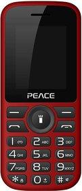 Peace P4 (Dual Sim, 1.8 Inch Display, 850 Mah Battery, BIS Certified, Made in India)