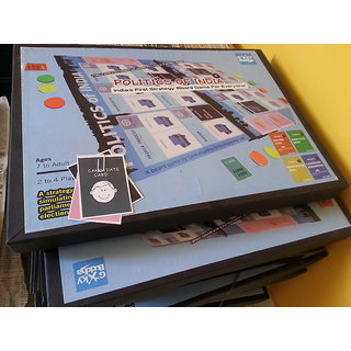 Politics of India - 4 Players (board game)