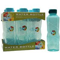 G-PET Fridge Water Bottle Poppy 1 Ltr. Sea Green - Set Of 6