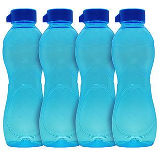 GPET Iceberg BPA Free Fridge Water Bottle 1 ltr Blue  Set of 4