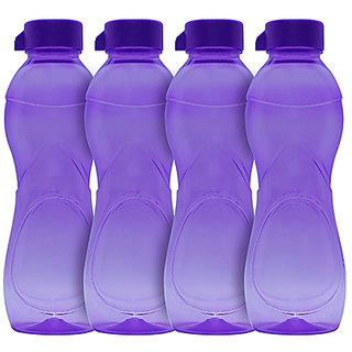 GPET Iceberg BPA Free Fridge Water Bottle 1 ltr Purple  Set of 4