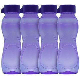 GPET Iceberg BPA Free Fridge Water Bottle 500 ml Purple  Set of 4